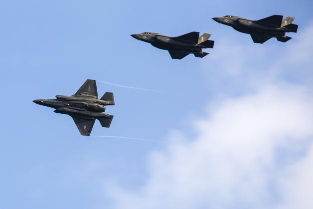ニュース画像 1枚目:アメリカ海兵隊のF-35B