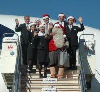 ニュース画像:フィンエアー、サンタクロースが来日 各地のイベントに参加