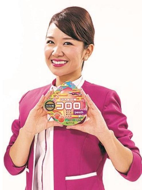 ニュース画像 1枚目:和歌山県出身の客室乗務員と「コロロ Peach」