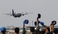 ニュース画像:空自C-130H、米高等空輸戦術訓練センターの戦術空輸訓練に参加