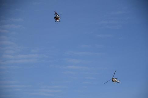 ニュース画像 1枚目:衝突回避の模擬飛行試験