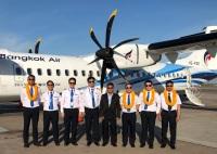 ニュース画像 1枚目:バンコクに到着したATR-72-600