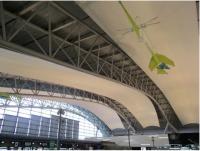 ニュース画像 1枚目:第1ターミナルビル4階天井