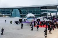ニュース画像:ボーイング、中国の完成・デリバリーセンターから初の737を納入