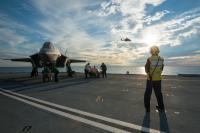 ニュース画像 1枚目:クイーンエリザベスでのF-35B