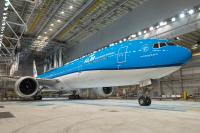 ニュース画像:KLM、新塗装・新シート採用の777-300ERの動画を公開