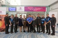 ニュース画像:ハワイアン航空、羽田/コナ線就航2周年記念でハワイ語フライトを実施