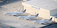 ニュース画像 1枚目:ユナイテッド航空の787、左から787-10、-9、-8