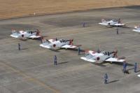 ニュース画像:小月航空基地、T-5で初訓練飛行 1月7日