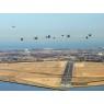 ニュース画像 3枚目:木更津飛行場の上空