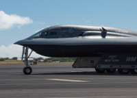 ニュース画像:B-2スピリット、ヒッカム統合基地に配備 共同演習を計画