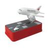 ニュース画像 2枚目:飛行機貯金箱 JALバージョン