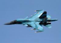 ニュース画像:ロシア空軍Su-34、訓練中に間宮海峡で空中衝突 乗務員2名救出