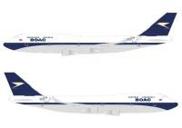 ニュース画像:ブリティッシュ・エアウェイズ、747でBOAC塗装を復活