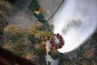 ニュース画像:埼玉・堂平山の山林火災、陸自CH-47Jが消火活動で425トンを散水