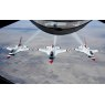 ニュース画像 2枚目:第51回スーパーボウルではKC-135から空中給油の支援を受けた