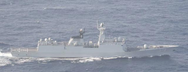 ニュース画像 1枚目:ジャンカイⅡ級フリゲート「579」