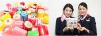 ニュース画像:ジェイ・エア、バルセロナ発祥の手作りキャンディを機内で期間限定販売