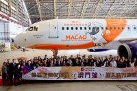 ニュース画像 1枚目:マカオ航空の新機材「Cidade de Macau」
