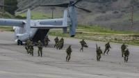 ニュース画像 1枚目:キャンプ・ペンデルトンでMV-22との共同訓練