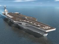 ニュース画像:アメリカ海軍、ニューポート・ニューズ造船所と空母2隻建造を正式契約