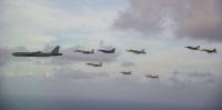 ニュース画像 1枚目:コープ・ノース18の編隊飛行
