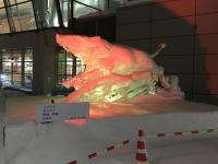 ニュース画像 1枚目:氷彫刻