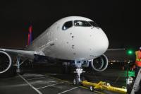 ニュース画像:デルタ航空、A220を定期便に投入