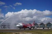 ニュース画像:フィリピン・エアアジア、セブ/マカオ線に就航 初便は搭乗率100%