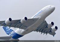 ニュース画像:最後のA380、機首など部品納入はじまる