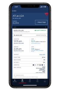 ニュース画像:スカイマイル、Fly Deltaアプリで座席アップグレード可能に