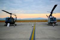 ニュース画像:横田基地459ASのUH-1NとC-12、岩国基地フレンドシップ・デーに参加