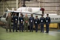ニュース画像:空自、スリランカ空軍、アメリカ空軍の捜索救助チーム、横田で交換会