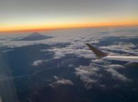 ニュース画像:FDAが改元チャーターフライト、新元号初日に富士山の日の出鑑賞