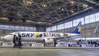 ニュース画像:スカイマーク、B.LEAGUE特別塗装機を運航へ