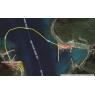 ニュース画像 2枚目:前島(左)と奈留島(右)を飛行