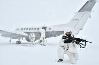 ニュース画像:北部方面航空隊、航空隊統一訓練と空隊長訓練検閲を実施 丘珠などで