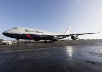 ニュース画像:ブリティッシュ・エア、ランドーデザインの100周年特別塗装を運航