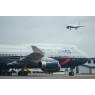 ニュース画像 2枚目:747-400、新旧塗装