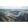 ニュース画像 3枚目:開港前のイスタンブール空港