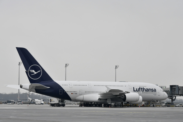 ニュース画像 1枚目:ルフトハンザ新塗装のA380