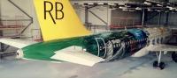 ニュース画像:ロイヤルブルネイ航空、成田線に就航 A320neo特別塗装機が飛来