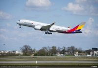 ニュース画像:アシアナ航空、3月末から仁川発着の米西海岸行き3路線へA350投入