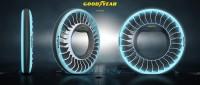 ニュース画像:グッドイヤー、空飛ぶ自動車を想定した最新のコンセプトタイヤを発表