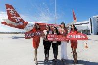 ニュース画像 1枚目:エアアジア・インドネシア、ロンボクからパースに就航