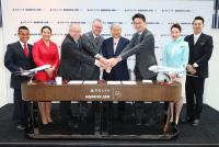ニュース画像:デルタと大韓航空の共同事業が1年、路線網拡張やマイレージ相互性が改善