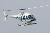 ニュース画像:第二管区のベル206B「おおるり」、3月20日に最後の訓練飛行
