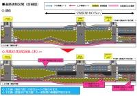 ニュース画像:羽田空港、環状八号線の上り線で道路規制 3月28日から車線切替