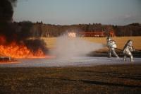 ニュース画像:百里基地、3月8日に航空機炎上対処訓練を実施