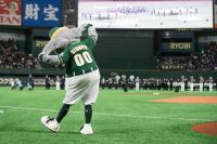 ニュース画像 1枚目:MLB開幕戦の様子